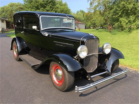 View this 5.0-Powered 1932 Ford Two-Door Sedan