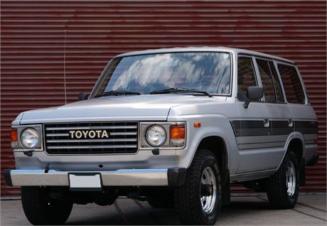 View this One-Owner 1985 Toyota Land Cruiser FJ60