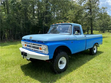 View this 428-Powered 1962 Ford F250 4x4