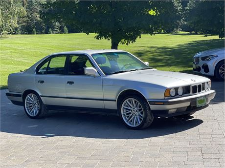 View this No Reserve: One-Owner 1992 BMW 535i