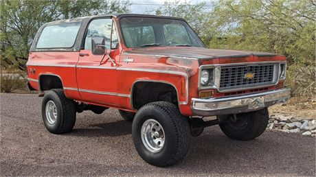 View this 1973 Chevrolet K5 Blazer Cheyenne