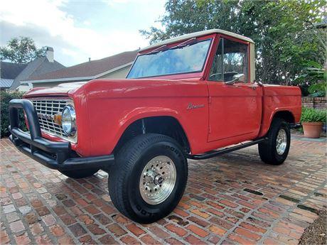View this 1966 Ford Bronco Half Cab Pickup