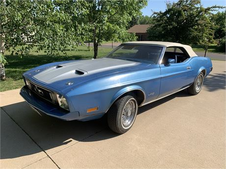 View this No Reserve: 1973 Ford Mustang Convertible