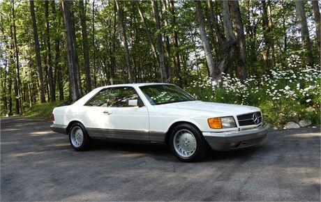 View this 1985 Mercedes-Benz 500SEC