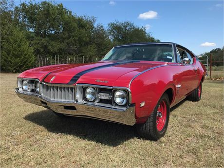 View this 1968 Oldsmobile Cutlass S