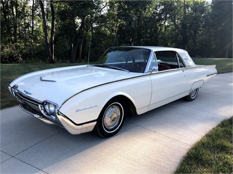 View this 1962 Ford Thunderbird