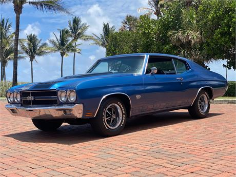 View this 454-Powered 1970 Chevrolet Chevelle