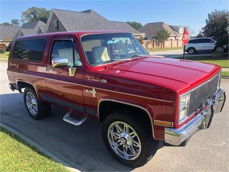 View this 1983 Chevrolet K10 Blazer